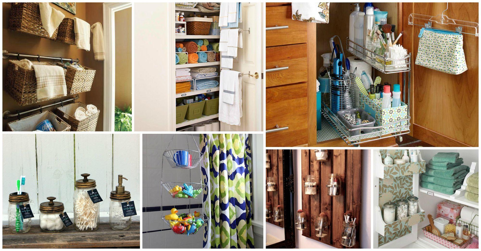 Clever Diy Bathroom Storage Ideas