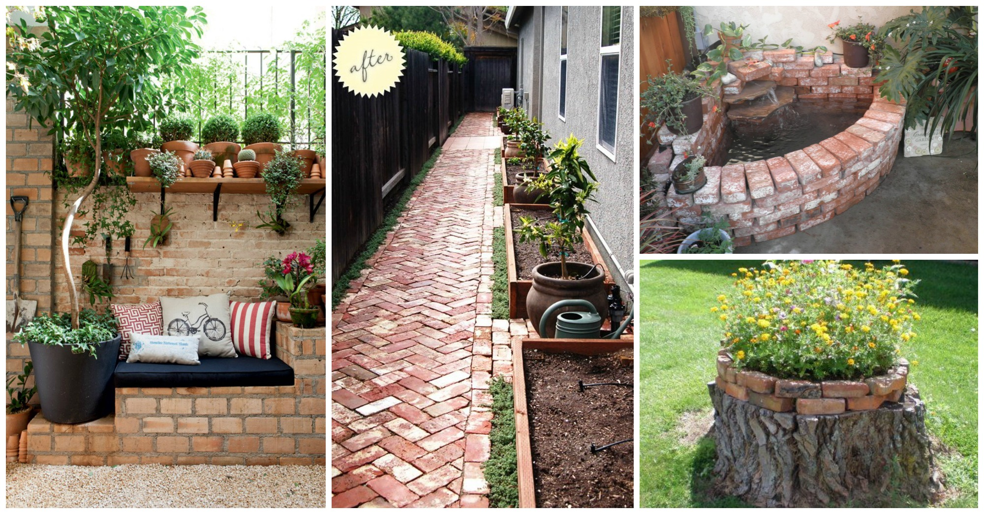 10 Brilliant Ideas to Decorate Your Yard With Bricks on Brick Ideas For Backyard id=77932