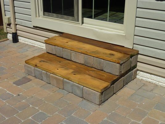 10 Clever DIY Outdoor Stairs You Should Not Miss on Backyard Patio Steps id=66941