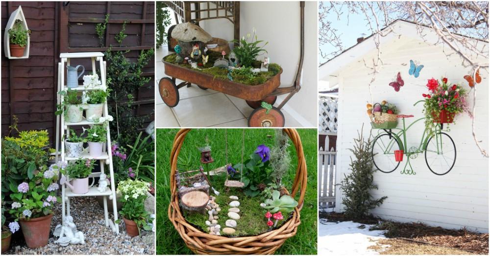 DIY Cheap Garden Decor To Bring A Whole New Look on Easy Diy Garden Decor id=81896