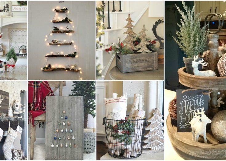 Helpful Rustic Christmas Decor Ideas That Look So Cozy