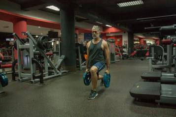 workout for leg day