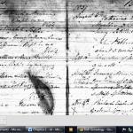 Original record Church of Ireland Ballyseede James Hoffman 22 Oct 1837