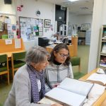 Kay & Noni Rush in Tralee Local History Library