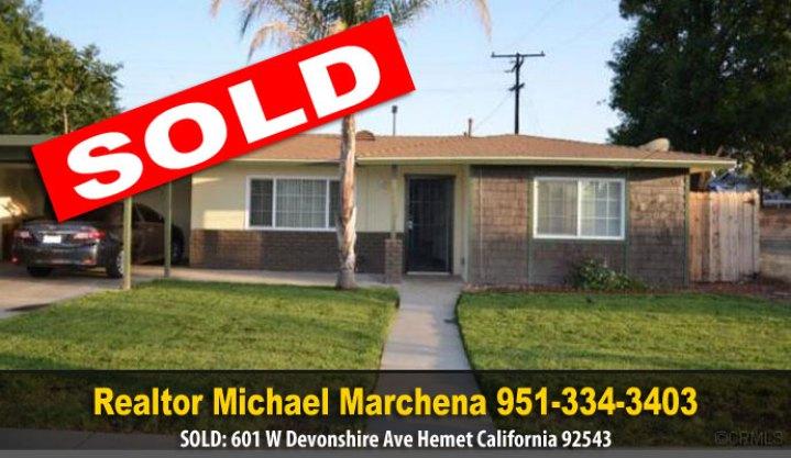 Home for Sale in Hemet California 92543