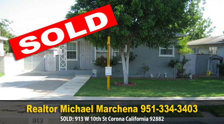 Sold Corona California