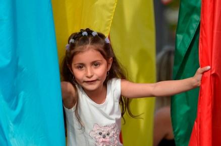 Jugando con las Banderas - Playing with the Flags
