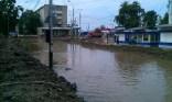 La calle Trubny inundada - Trubny Street flooded
