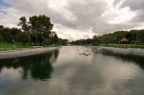 Uno de los lagos artificiales - One of the artificial lakes