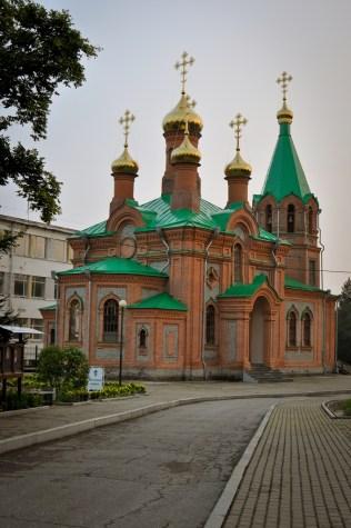2012-08-19 - Khabarovsk - Iglesia de San Inocente de Irkutsk