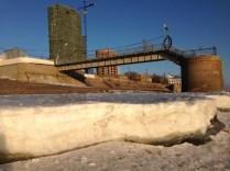 La capa de hielo es aún impresionante - The ice layer is still impressive