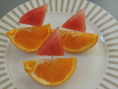 Image result for edible sailboats