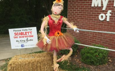 Scarlett the Scarecrow