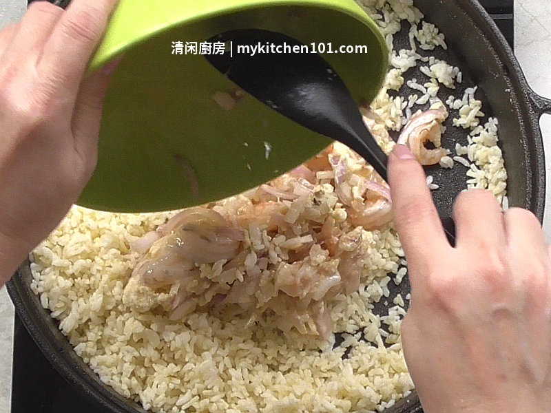 虾仁黄金蛋炒饭