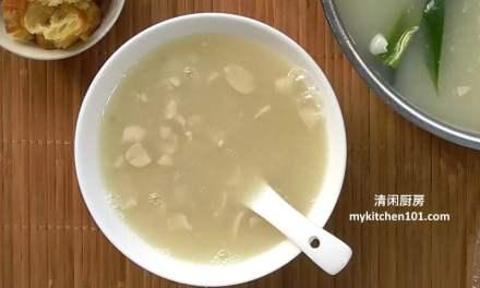 马六甲美食:花生粥糖水搭配油条