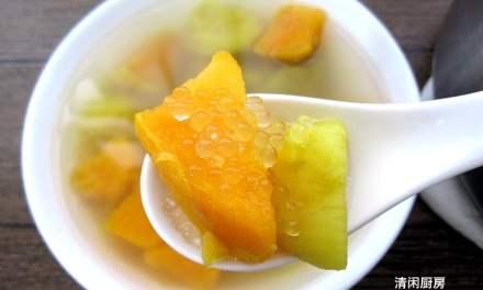 橙黄番薯老姜糖水