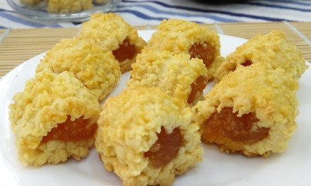 黄梨酥卷-必吃的新马年饼