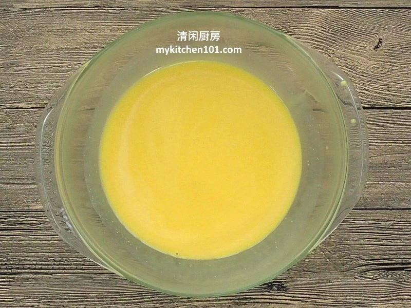 玉米奶黄馅