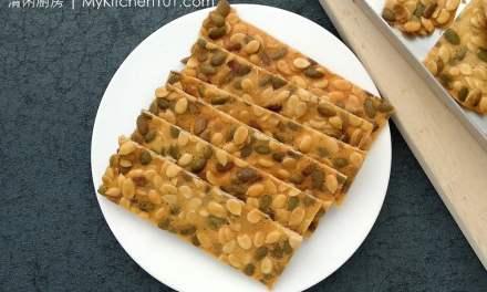 瓜子脆片酥-可用杏仁片代替做杏仁瓦片
