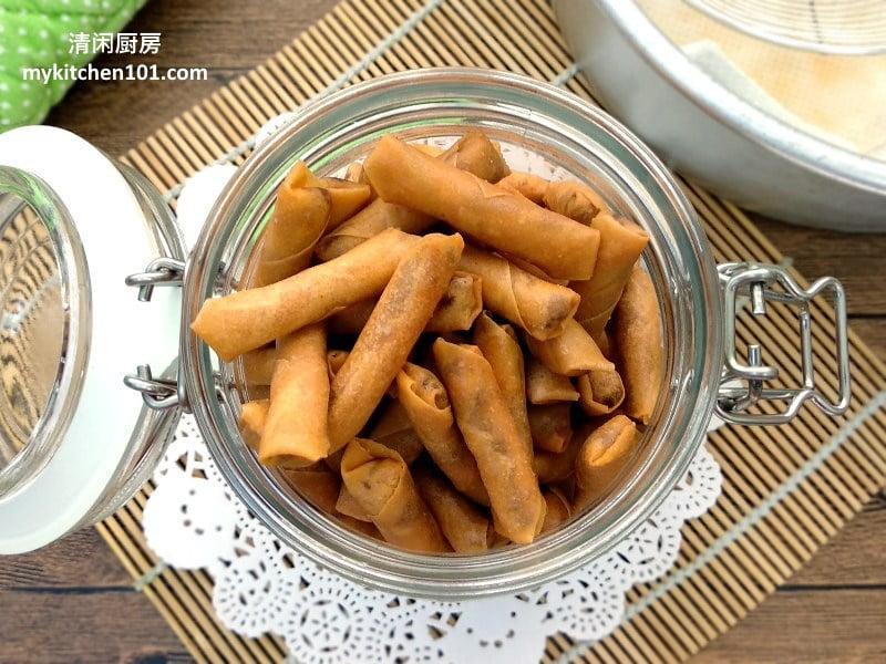 香脆sambal虾米春卷