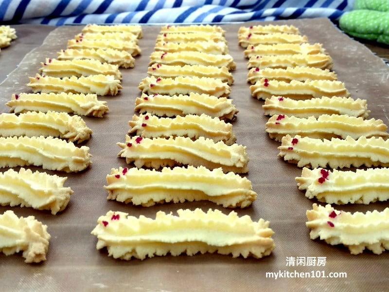 毛毛虫饼/龙饼 玉米淀粉牛油饼