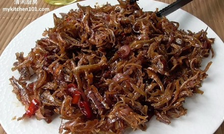 Sweet and Spicy Crispy Fried Anchovies