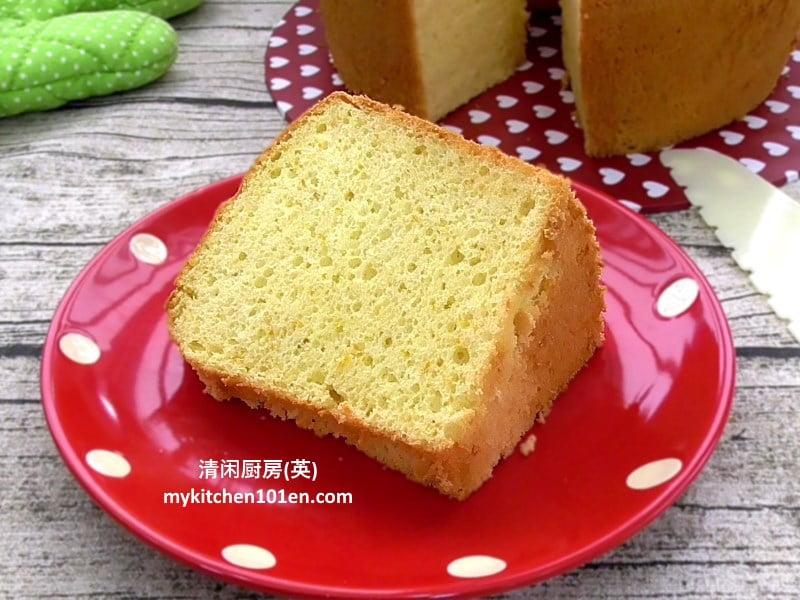 Moist orange chiffon cake recipe