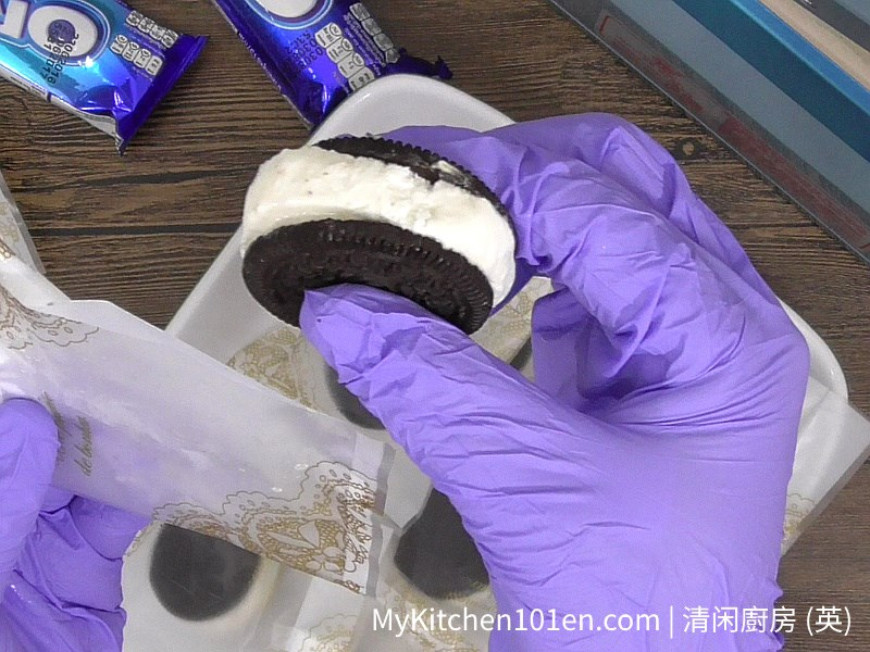 Oreo Ice Cream Sandwich