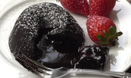 Bitter Sweet Dark Chocolate Lava Cake