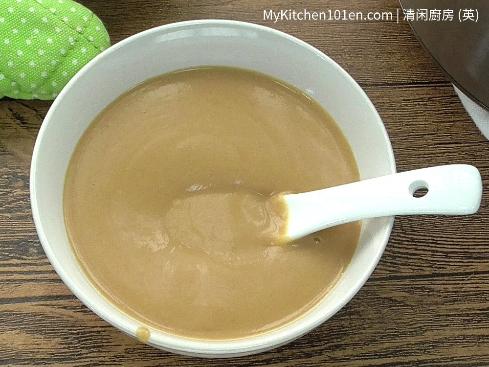 Creamy Peanut Sweet Soup