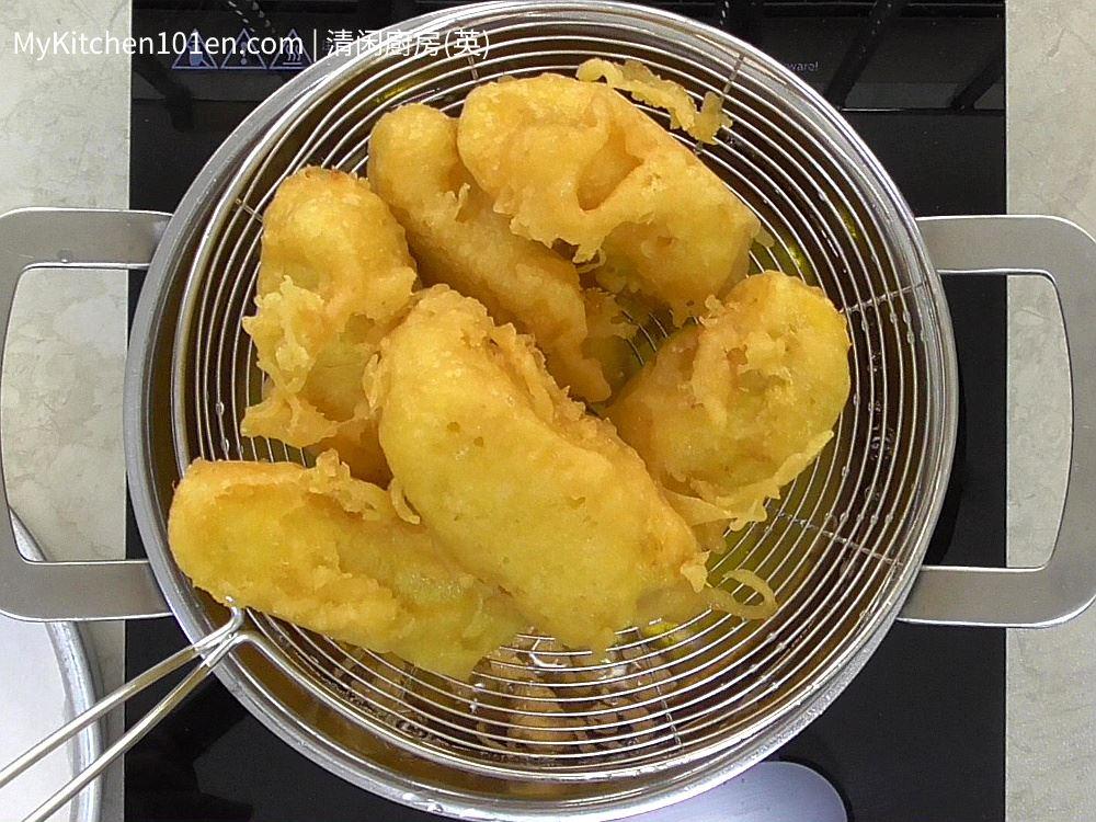 Crispy Deep Fried Banana Fritters
