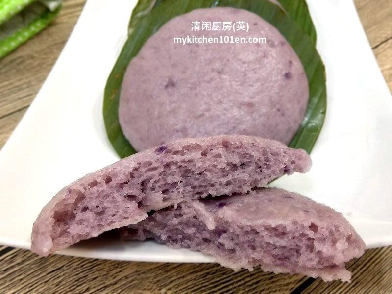 Purple Sweet Potato Hakka Hee Pan