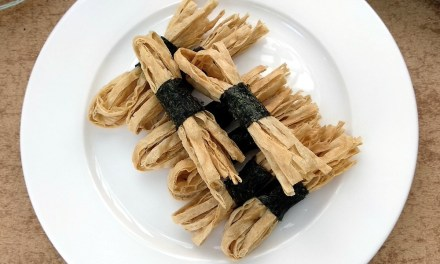 Crispy Roasted Seaweed Fish Strips Snack