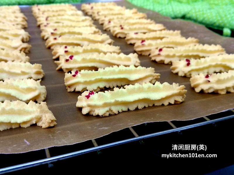 Caterpillar Cookies/Dragon Cookies Cornstarch Butter Cookies