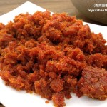 Sambal Hebi (Sambal Dried Shrimp)