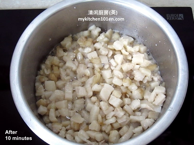 How to Render Perfect White Lard from Pork Fat