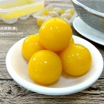 "Agar-Agar ""Egg Yolks"" for Jelly Mooncakes"