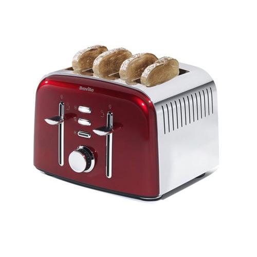 Breville Aurora 4 Slice Toaster Red My Kitchen Accessories