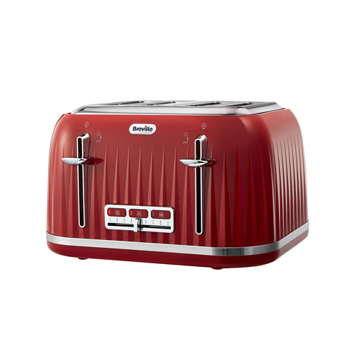 Breville Impressions 4 Slice Toaster Red My Kitchen