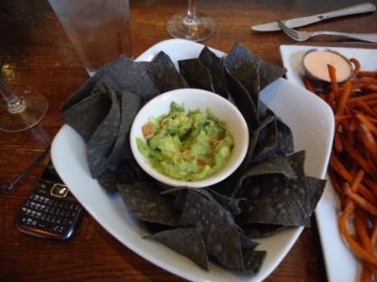 The Raven Café, Guacamole with Blue Corn Chips