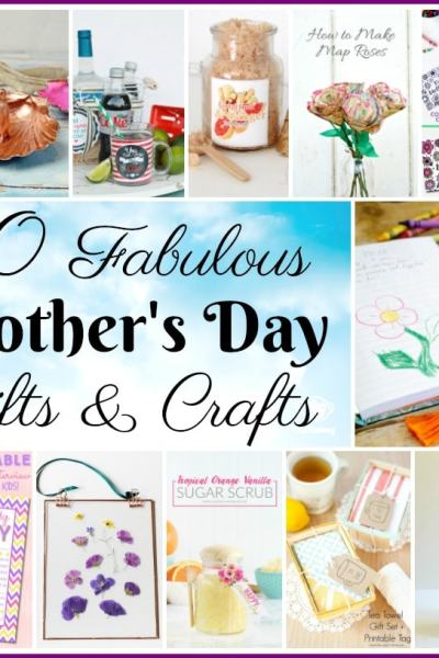 10 Fabulous Mother's Day Crafts and Gifts