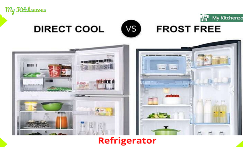 Difference between Direct Cool and Frost-Free best refrigerator in India