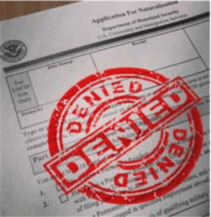 USCIS关于拒绝申请书的最新政策
