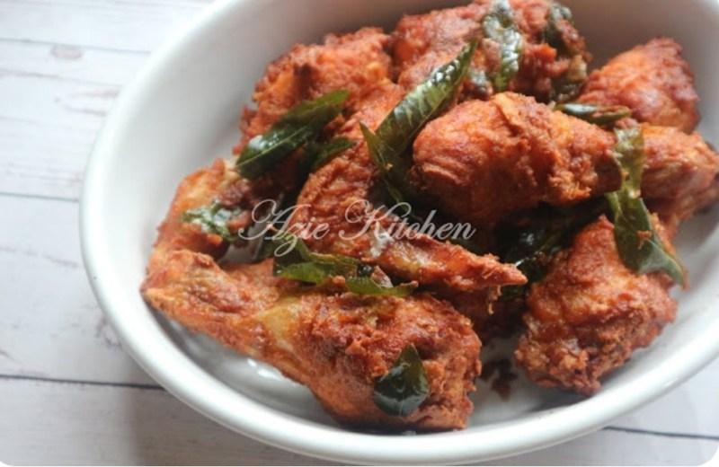 Resepi Ayam Goreng Mamak Rangup Dan Sedap