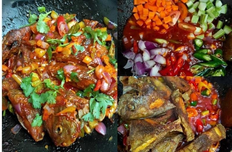 Resepi Ikan Masam Manis - Resepi Ikan Bawal Masak Masam Manis ~ Resep Masakan Khas : Merangsang