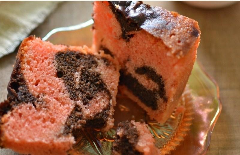 Resepi kek marble pic gebu