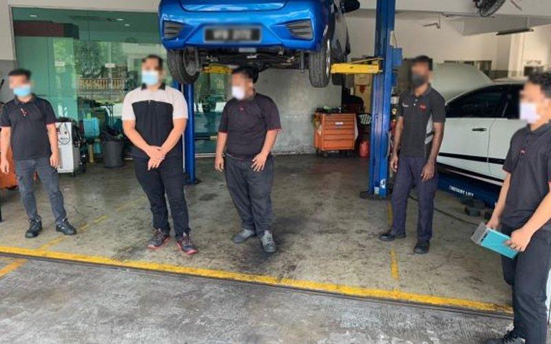 Tak daftar masuk tempat kerja - dikompaun RM7500