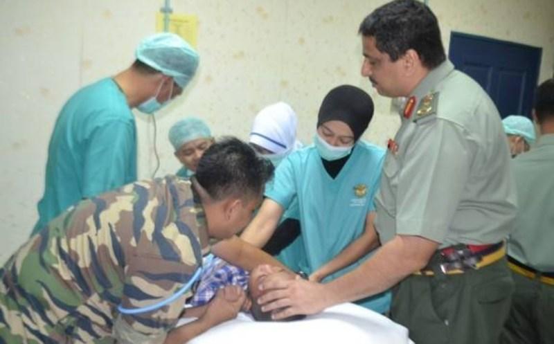 Beri kuasa tentera untuk terlibat dalam proses vaksinasi