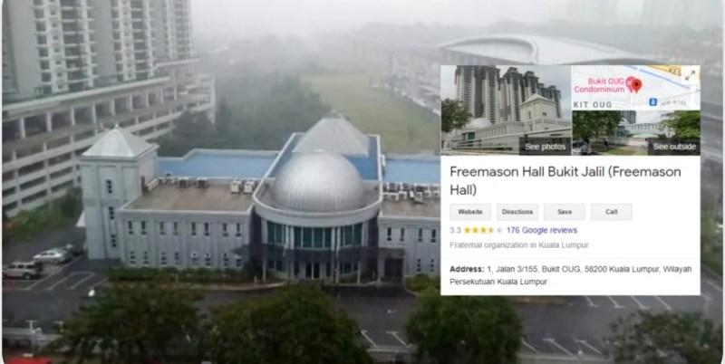 Galak Menghentam Zionis, Terlupa Bersarangnya Freemason Bersepah Dalam Malaysia