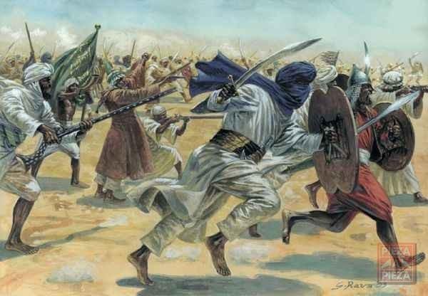 Hanya dengan BERSIWAK, tentera muslim berjaya menggerunkan musuh dan menawan negara mereka